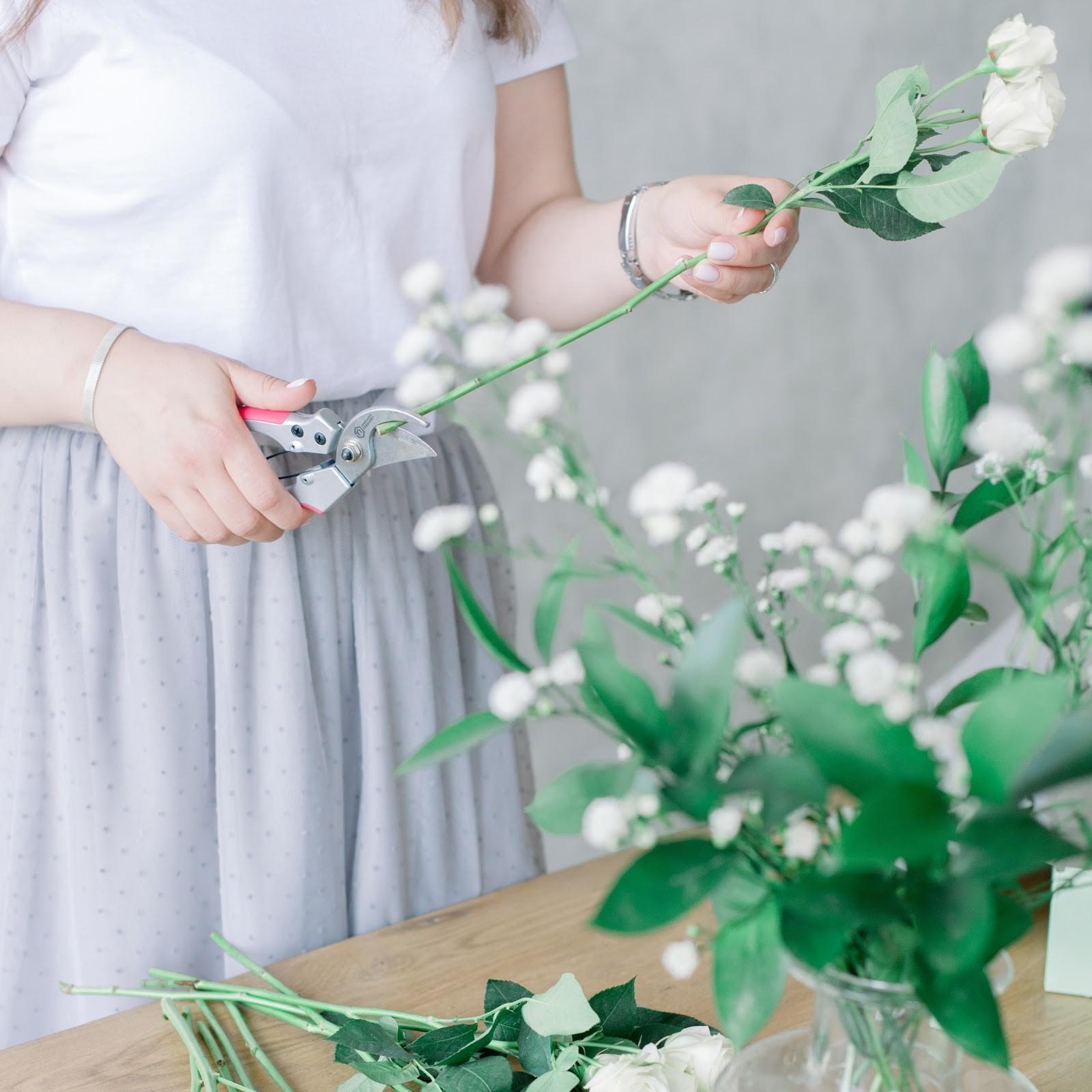 Как правильно ухаживать за букетом цветов
